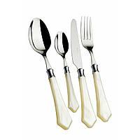 Набор Casa Bugatti  VECAM-C0850 кухонных(столовых)приборов,цвет слоновая кость