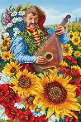 Схемы для вышивки бисером на украинскую тематику!