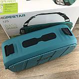 Портативна Bluetooth колонка Hopestar A20 Синя Хопстар акустична система з акумулятором з вологозахистом, фото 3