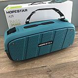 Портативна Bluetooth колонка Hopestar A20 Синя Хопстар акустична система з акумулятором з вологозахистом, фото 4