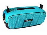 Портативна Bluetooth колонка Hopestar A20 Синя Хопстар акустична система з акумулятором з вологозахистом, фото 10