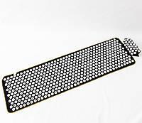 Массажный коврик + валик (аппликатор Кузнецова) массажер для спины/головы/ног OSPORT Lite ECO 145 (apl-028)
