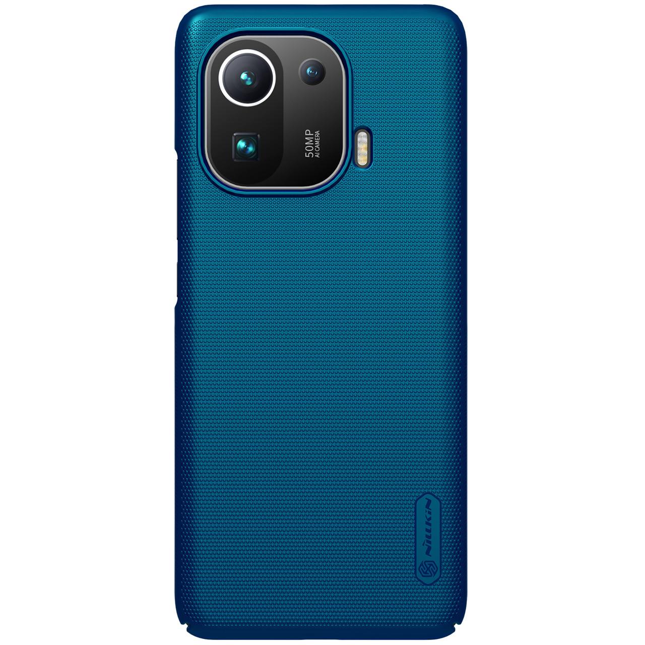 Защитный чехол Nillkin для Xiaomi Mi 11 Pro Super Frosted Shield Blue Синий