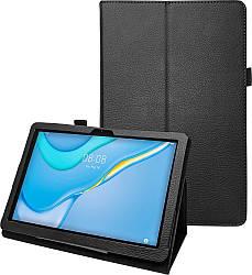 Чехол книжка Huawei MatePad T10S New Leather Black (Хуавей МатПад Т10с)
