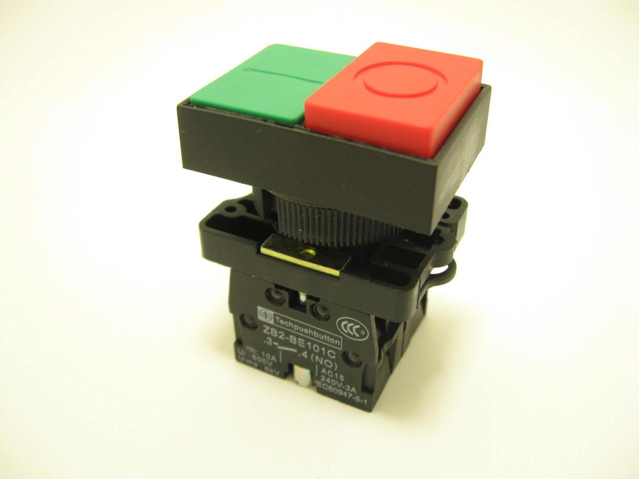 Кнопка подвійна «СТАРТ/СТОП» XB2-BL8425