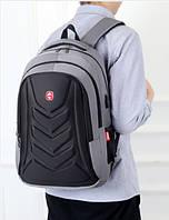 Рюкзак міський з USB виходом (СР-1207)