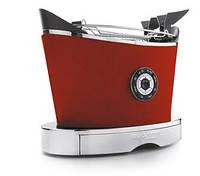 Тостер  в кожаной отделке Casa Bugatti 13-VOLOBP3,  цвет  красный