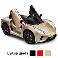 Детский электромобиль Just Drive LAMBO V12 автомобиль машинка для детей Золотой