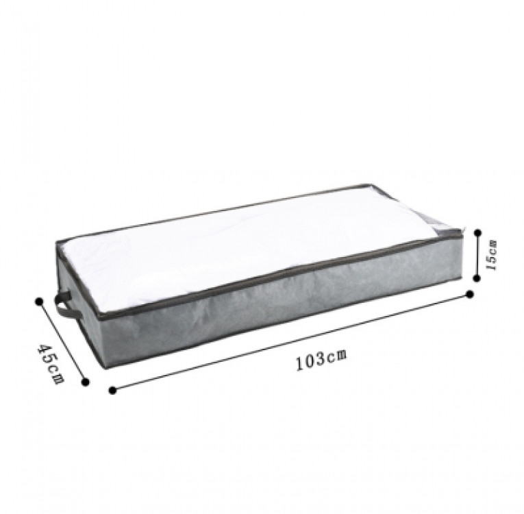 Органайзер для одеяла 103х45х15 см (серый)