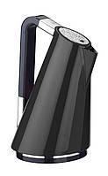 Электрочайник  отделка с кристаллами Casa Bugatti  14-VERASW4/N  Details of light, цвет черный