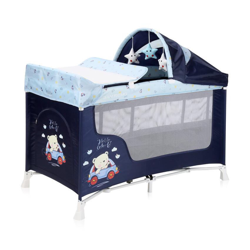 Ліжко-манеж Lorelli San Remo 2 Layers Plus