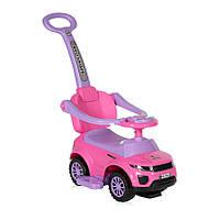Каталка толокар Lorelli Off road + handle Розовый