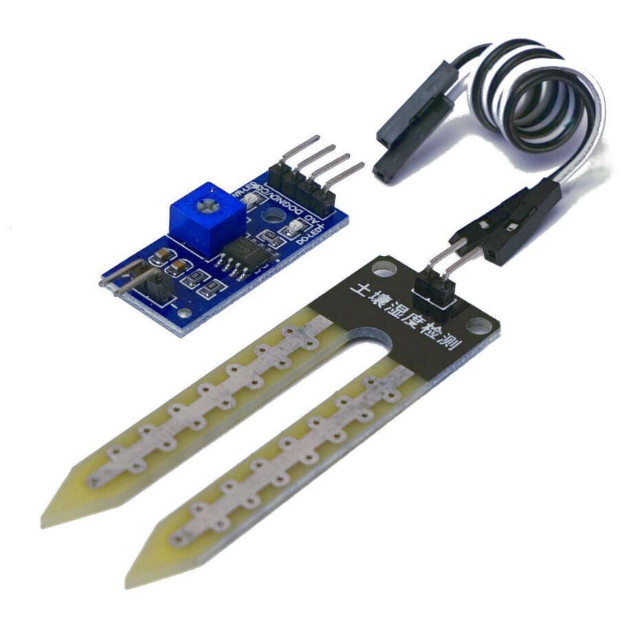 Датчик влажности почвы Arduino