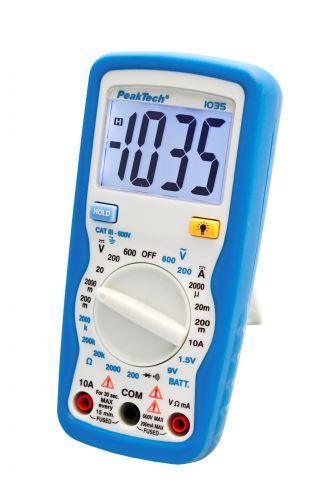 Цифровий мультиметр PeakTech 1035