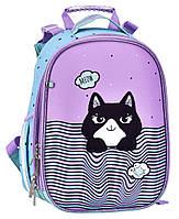 Рюкзак школьный ортопедический CLASS SchoolCase Mini Kitten, для девочек, разноцветный (2104C)