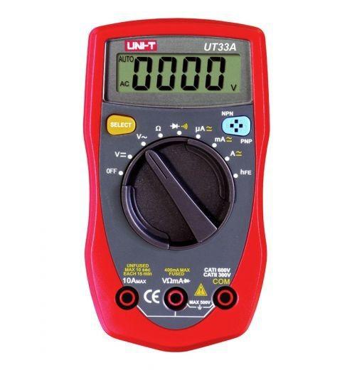 Мультиметр цифровой UNI-T UT33A+