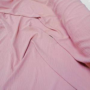 Ткань американский креп розовый