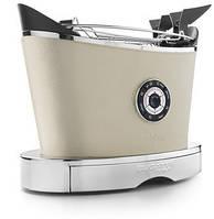 Тостер в шкіряній обробці Casa Bugatti 13-VOLOBPC, колір кремовий
