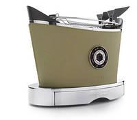 Тостер в шкіряній обробці Casa Bugatti 13-VOLOBP8, колір меланж