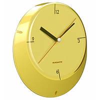 Настенные часы для кухни Casa Bugatti GL6U-02190, цвет желтый