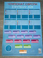 Календарь / Плакат ЕВРО 2021