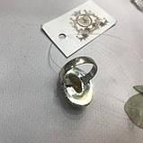 Цитрин 17,7 розмір кільце з цитрином кільце з каменем жовтий цитрин в сріблі Індія, фото 7