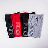 Чоловічі трикотажні шорти Puma, світло-сірого кольору, фото 4