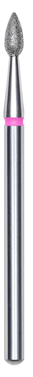 Фреза алмазна крапля червона Staleks FA40R023 d2,3 мм / робоча частина 5 мм (комплект 6 шт)