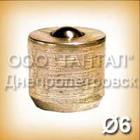 Прес-маслянка 6 під запресовування 3.1.2 ГОСТ 19853-74 латунна
