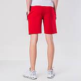 Мужские трикотажные шорты Puma, красного цвета., фото 2