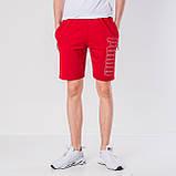Мужские трикотажные шорты Puma, красного цвета., фото 3