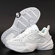 Женские кроссовки в стиле Nike M2K Tekno Full White