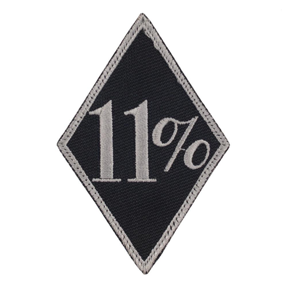 M-Tac нашивка 11% чорна