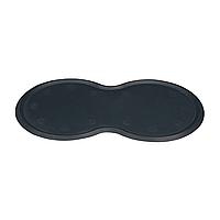 Коврик под миску Trixie 45 см / 25 см (тёмно-серый)