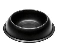Миска для кошек и собак Ferplast MIRA черная 21 x  5 cм  0,5 л