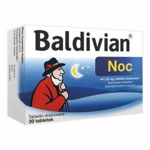 Pfizer Baldivian Ночь 441,35 мг высококачественного экстракта валерианы 30 таблеток