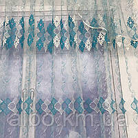 Турецький тюль для залу кімнати кухні, тюль з фатину для залу спальні кімнати, фатинова фіранка для будинку спальні вітальні залу, фото 10