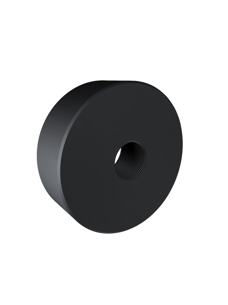 ODF-06-25-21-L15 Дистанция 15 мм для коннектора диаметром 40 мм и с резьбой М8, черный
