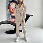 Женский брючный костюм с пиджаком, фото 2