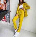 Женский брючный костюм с пиджаком, фото 3