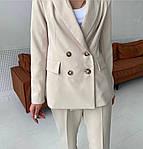 Женский брючный костюм с пиджаком, фото 4