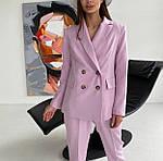 Женский брючный костюм с пиджаком, фото 7
