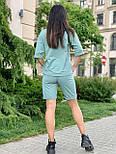 Женский летний костюм с шортами по колено и свободной футболкой (р. 42-52) 84101896, фото 5
