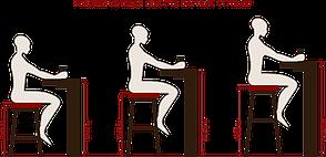 Стілець барний поворотний на одній ніжці JEFF Bar GD-Base оксамит, колір бежевий в-1005, фото 3