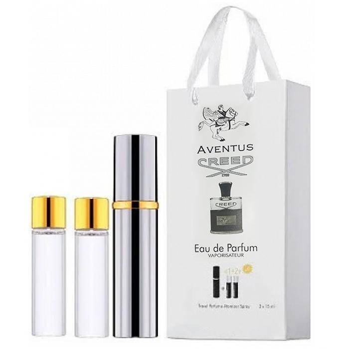 Мини-парфюм с феромонами мужской CREED Aventus 3х15 мл