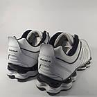 Кроссовки кожаные Bona р.45 белые, фото 8
