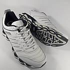 Кроссовки кожаные Bona р.45 белые, фото 7
