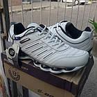 Кроссовки кожаные Bona р.45 белые, фото 4