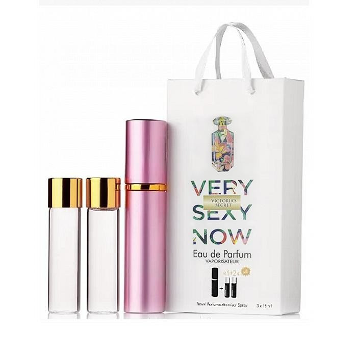 Мини-парфюм с феромонами женский Victoria's Secret Very Sexy Now 3х15 мл