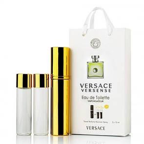 Мини-парфюм с феромонами женский Versace Versense 3х15 мл
